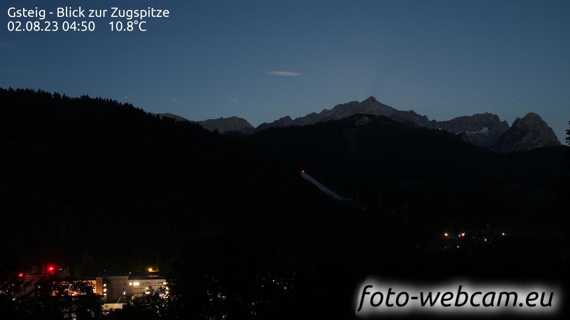 Garmisch-Partenkirchen Thu. 04:31