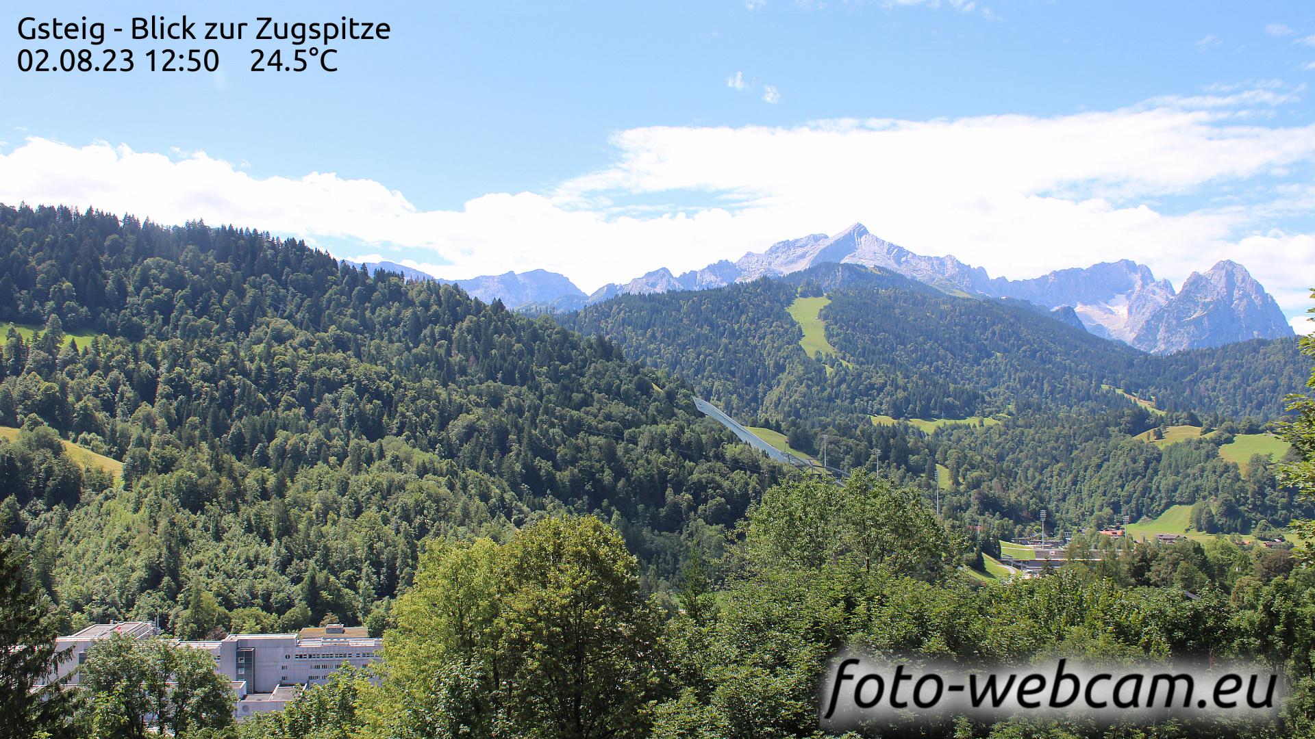 Garmisch-Partenkirchen Thu. 12:31
