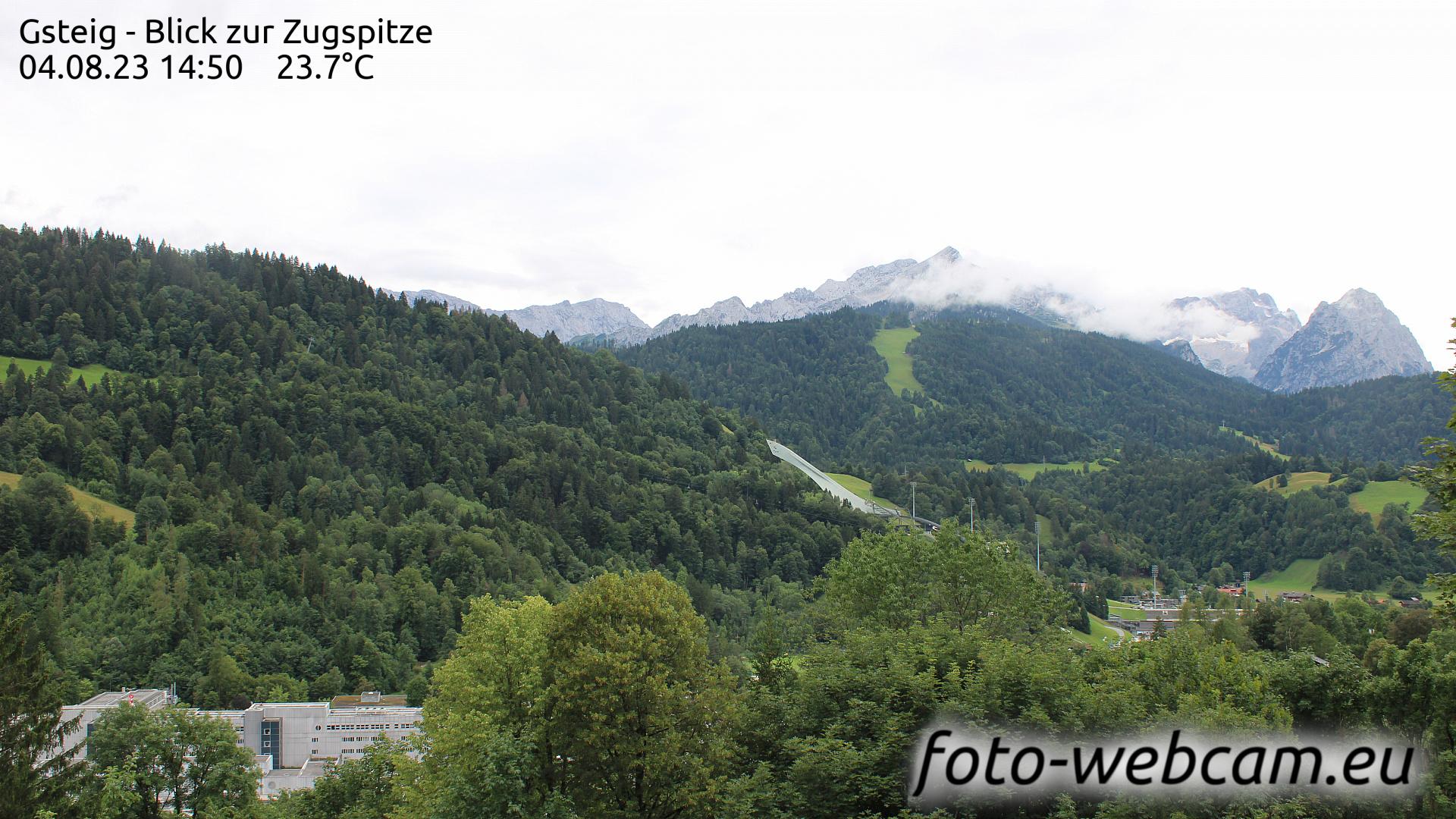 Garmisch-Partenkirchen Thu. 14:31