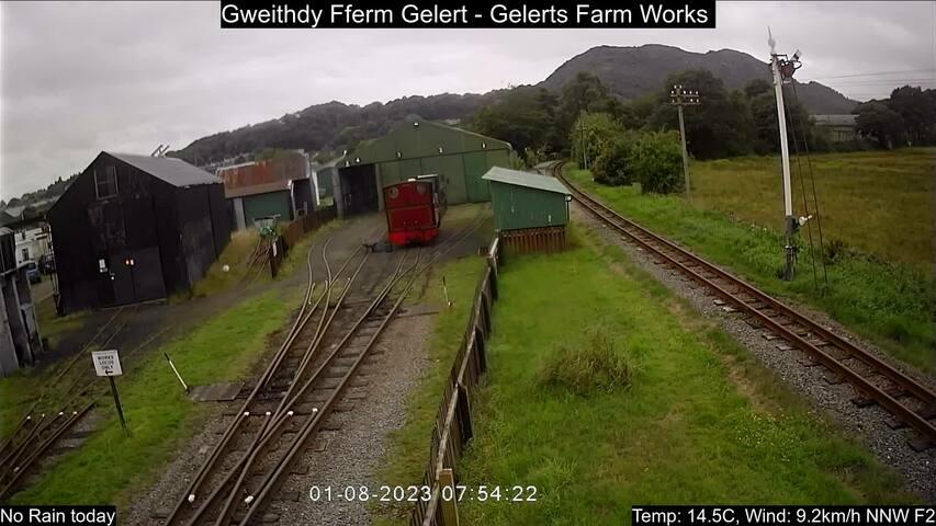 Gelert's Farm halt Fri. 07:55