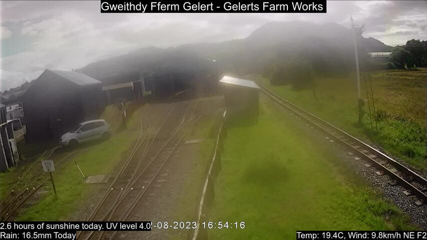 Gelert's Farm halt Fri. 16:55