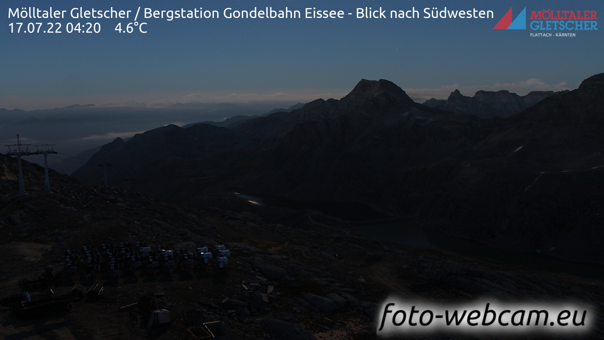 Glacier Mölltal Mon. 04:29