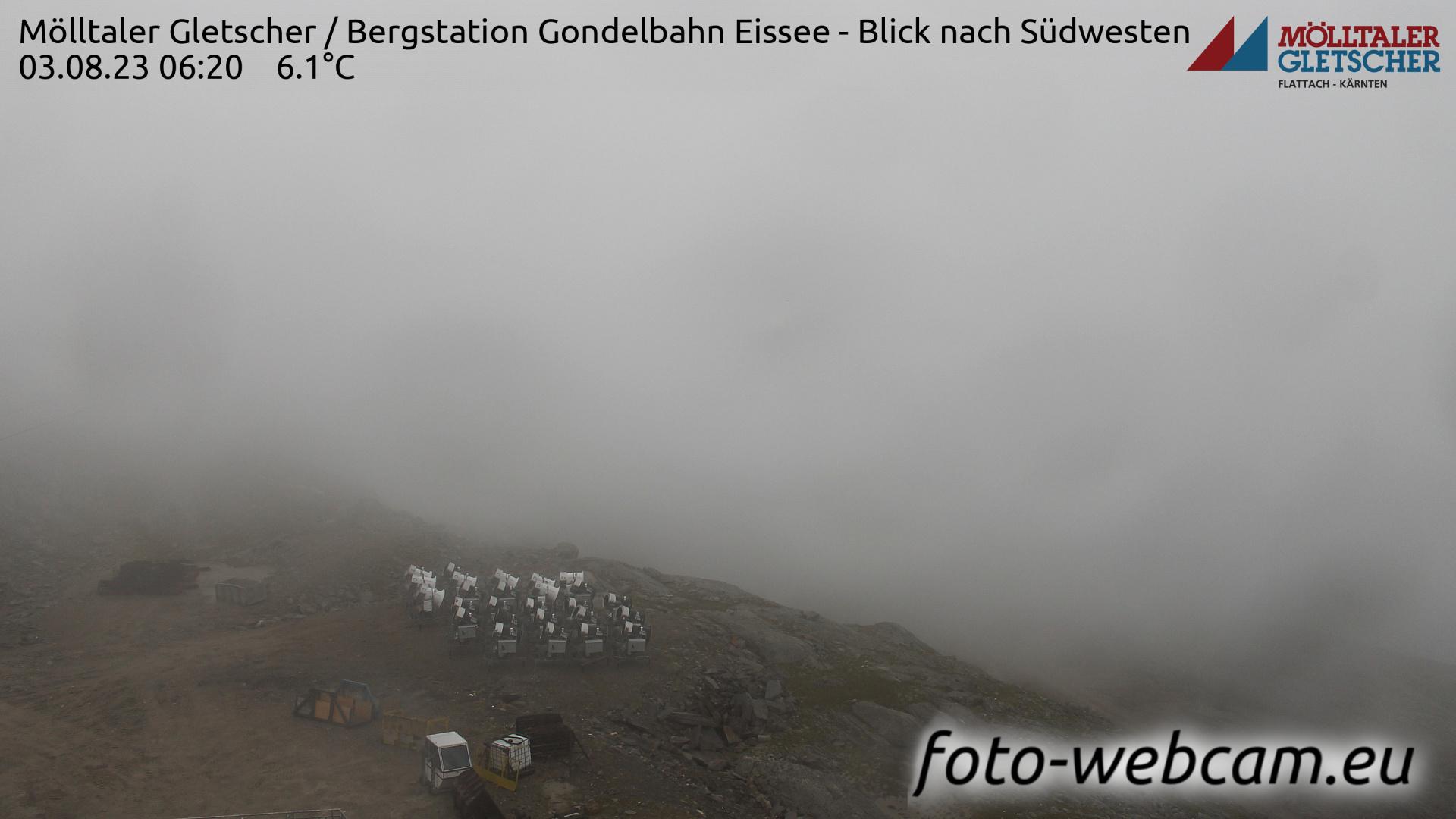 Glacier Mölltal Mon. 06:29