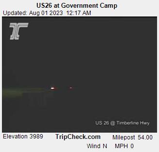 Government Camp, Oregon Mon. 00:21