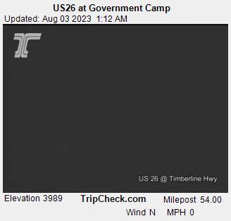 Government Camp, Oregon Mon. 01:21