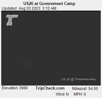 Government Camp, Oregon Mon. 03:21