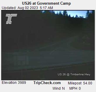 Government Camp, Oregon Mon. 05:21