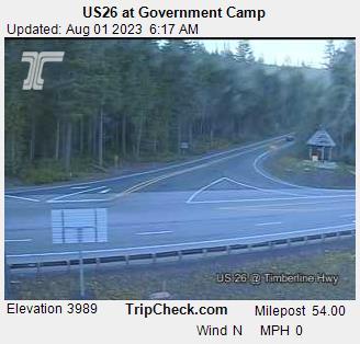 Government Camp, Oregon Mon. 06:21