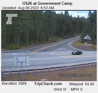 Government Camp, Oregon Mon. 07:21