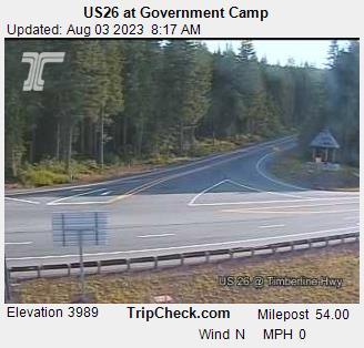 Government Camp, Oregon Sun. 08:21