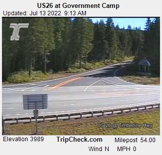 Government Camp, Oregon Sun. 09:21
