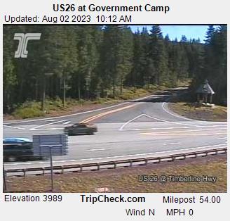 Government Camp, Oregon Sun. 10:21