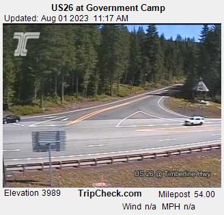 Government Camp, Oregon Sun. 11:21