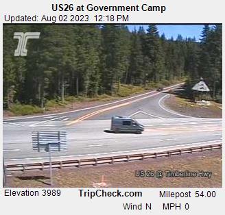 Government Camp, Oregon Sun. 12:21