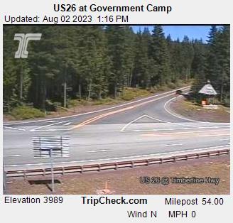 Government Camp, Oregon Sun. 13:21