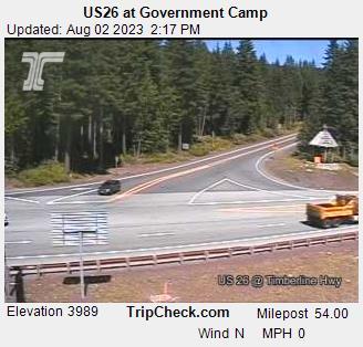 Government Camp, Oregon Sun. 14:21