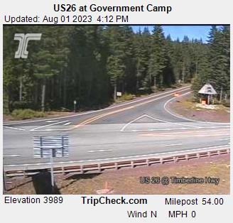 Government Camp, Oregon Sun. 16:21