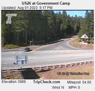 Government Camp, Oregon Sun. 17:21