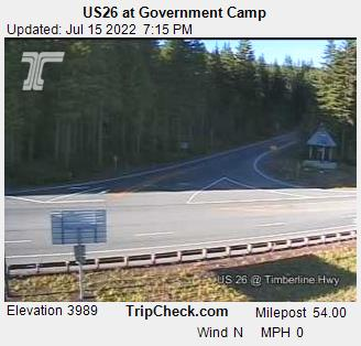 Government Camp, Oregon Sun. 19:21