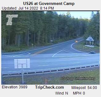 Government Camp, Oregon Sun. 20:21