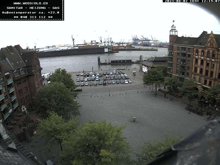 Hamburg Fischmarkt Webcam