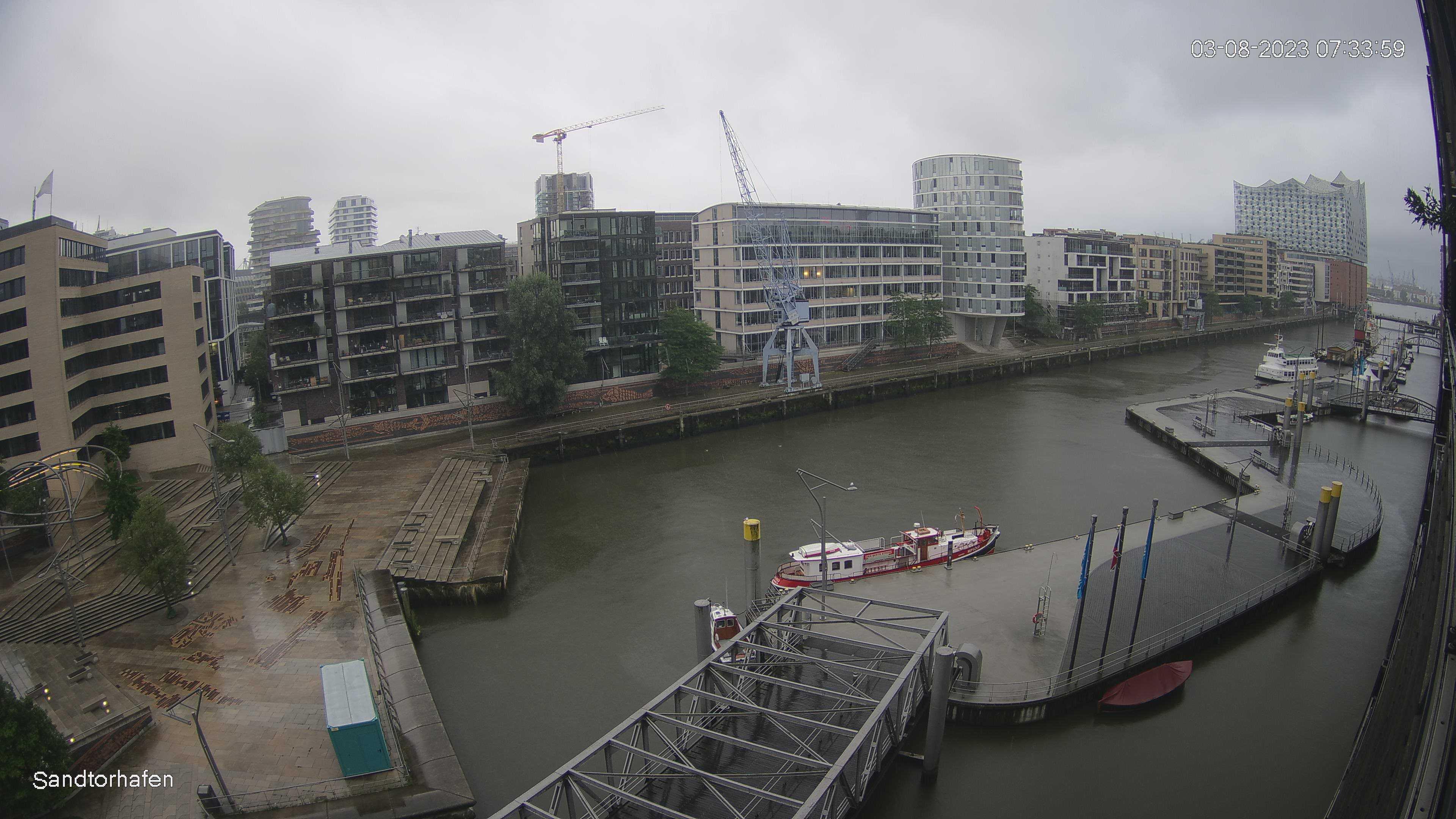 Hamburg Wed. 07:35