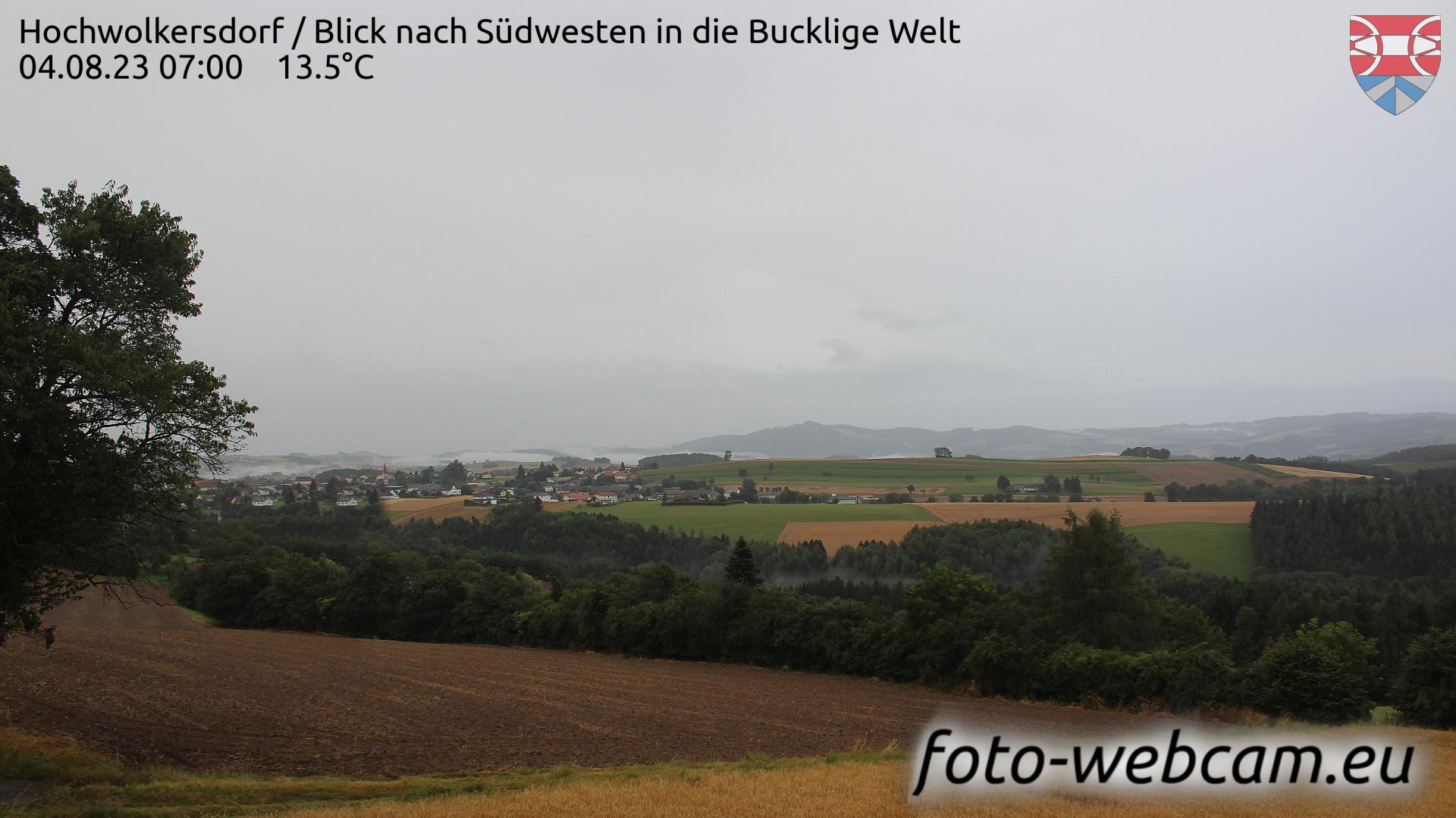 Hochwolkersdorf Wed. 07:09