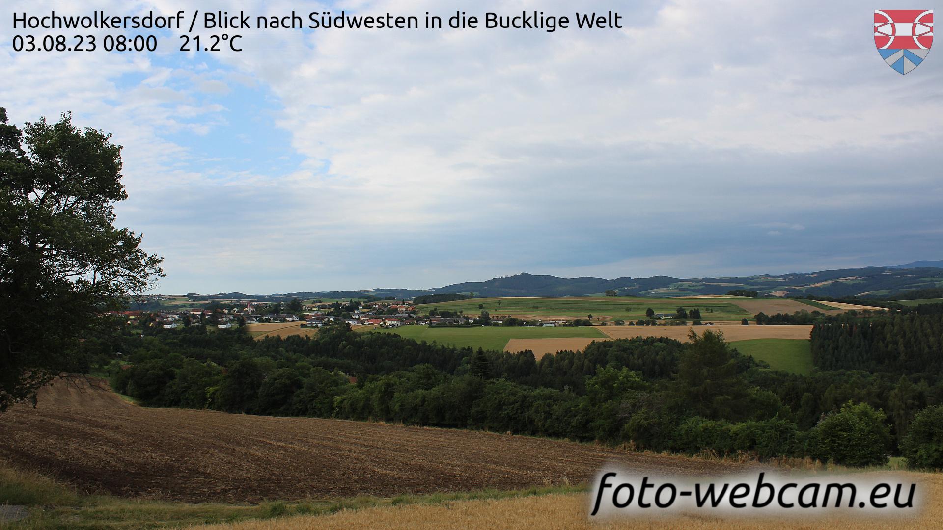 Hochwolkersdorf Wed. 08:09