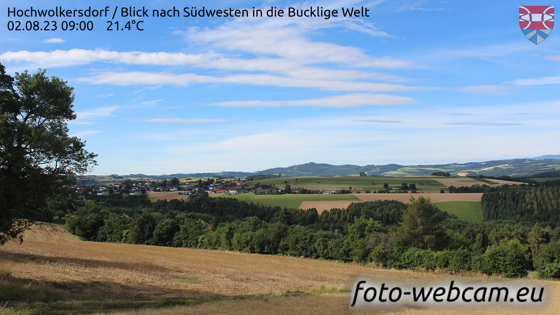 Hochwolkersdorf Wed. 09:09