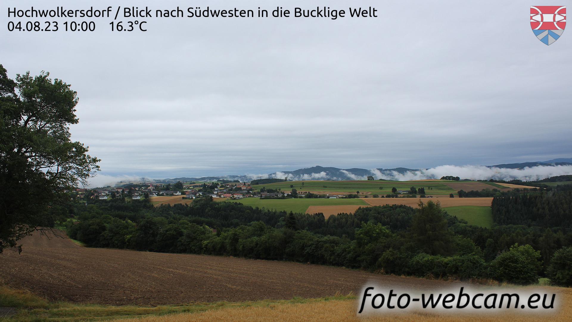 Hochwolkersdorf Wed. 10:09