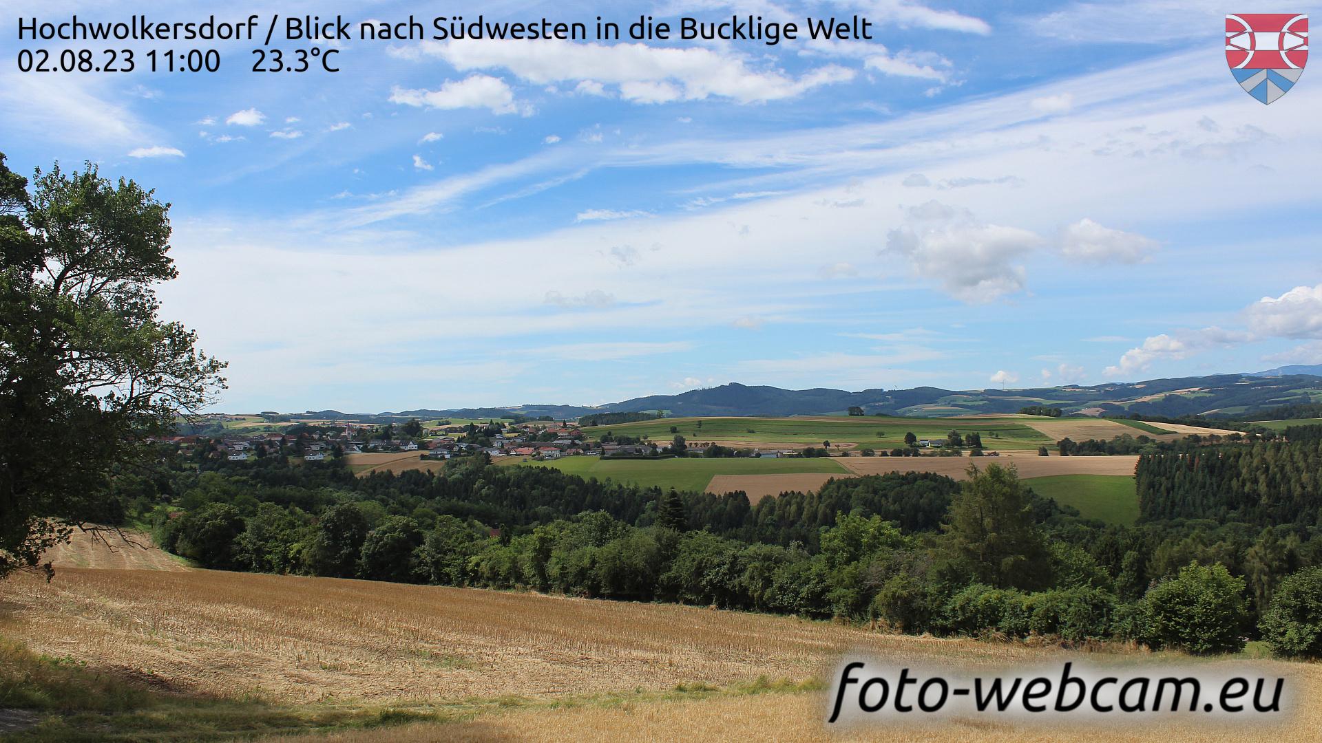 Hochwolkersdorf Wed. 11:09