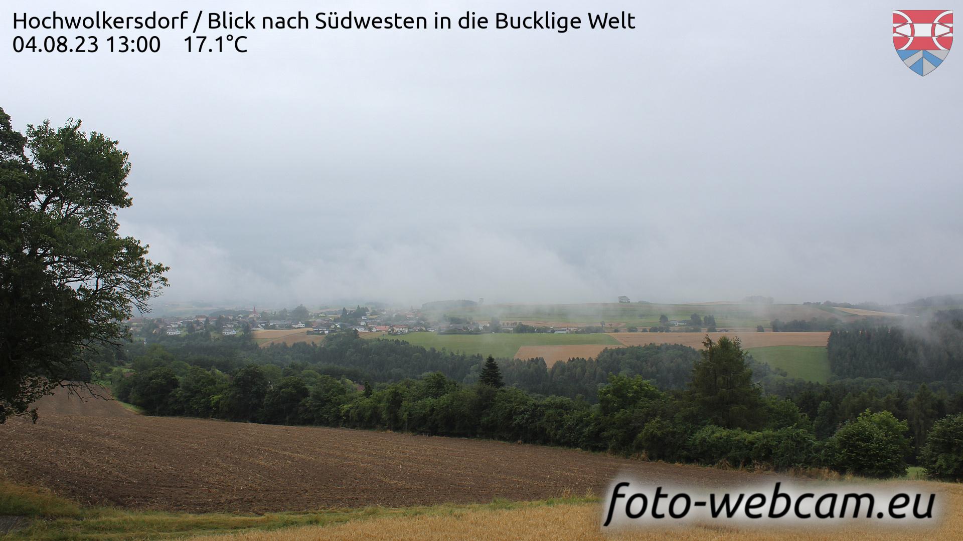 Hochwolkersdorf Tue. 13:09