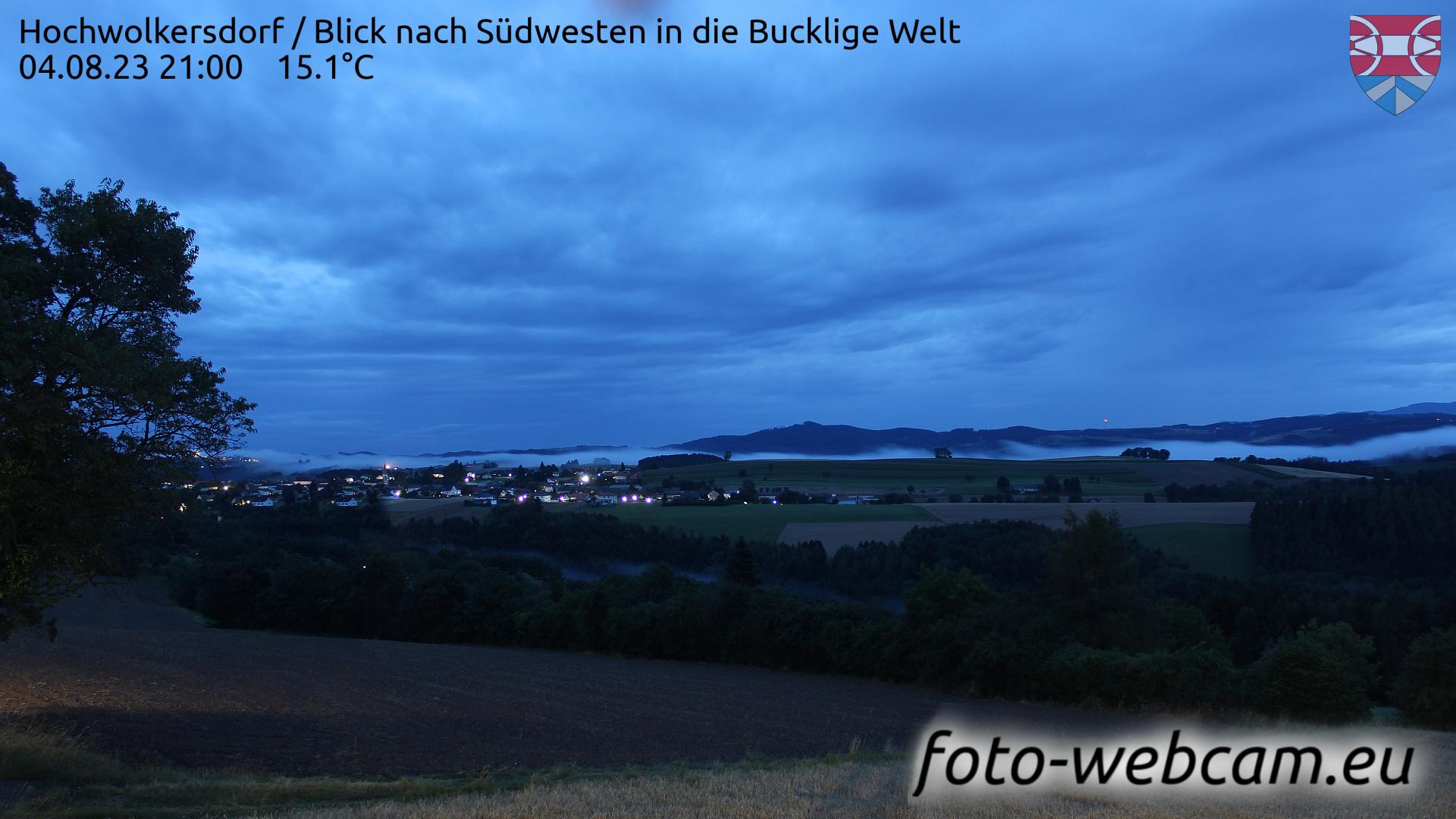 Hochwolkersdorf Tue. 21:09