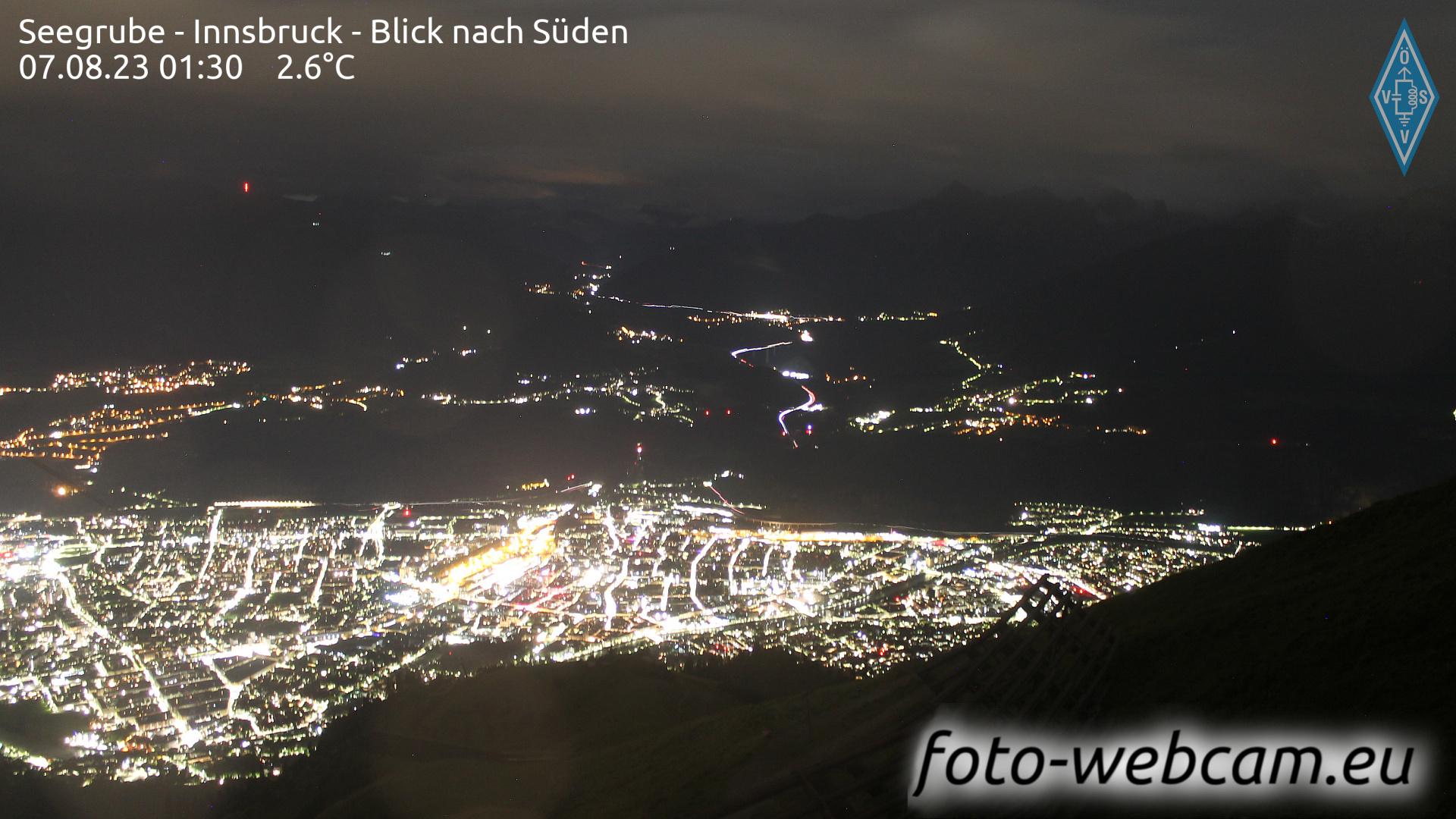 Innsbruck Thu. 01:18