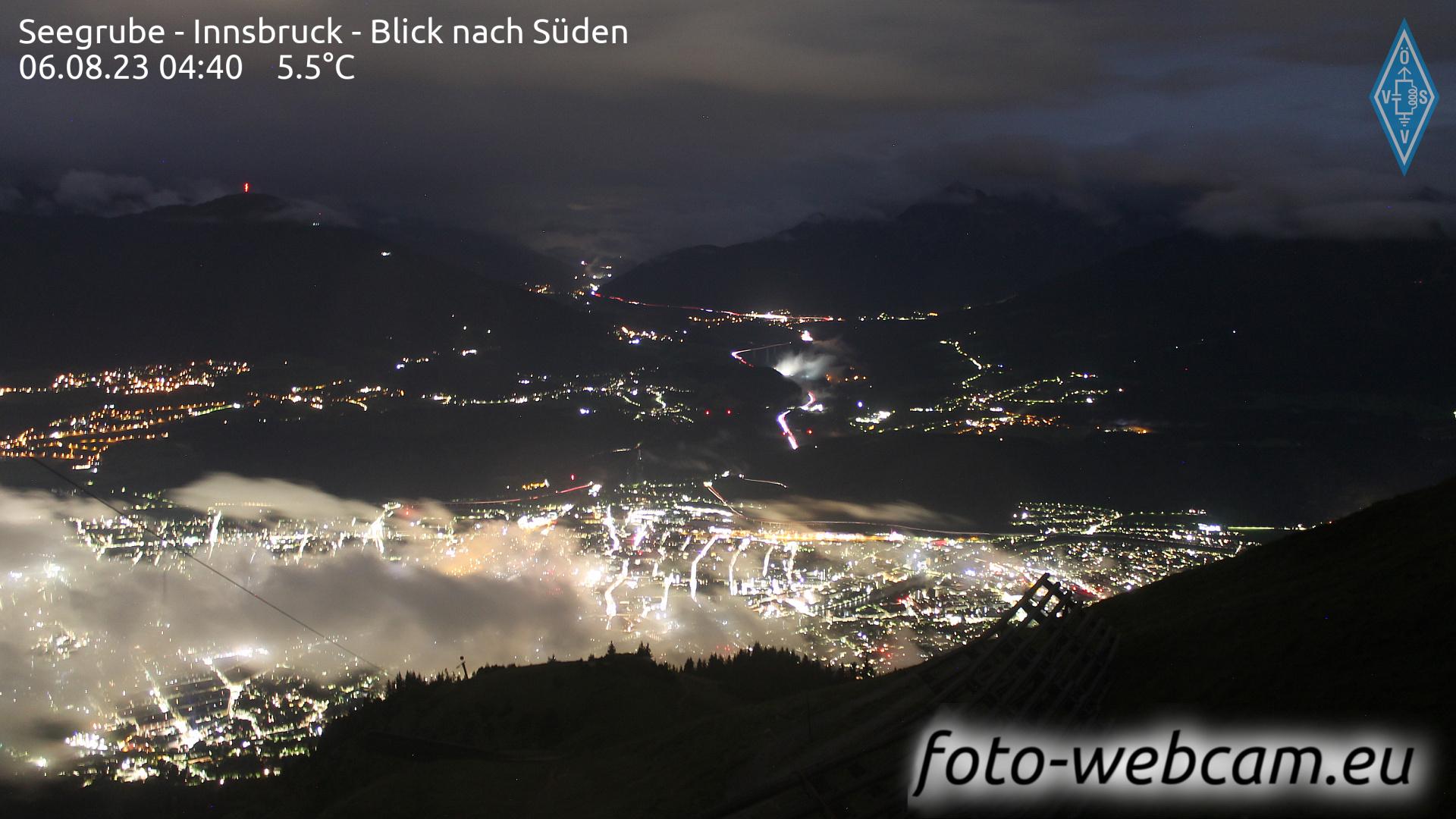 Innsbruck Thu. 04:18