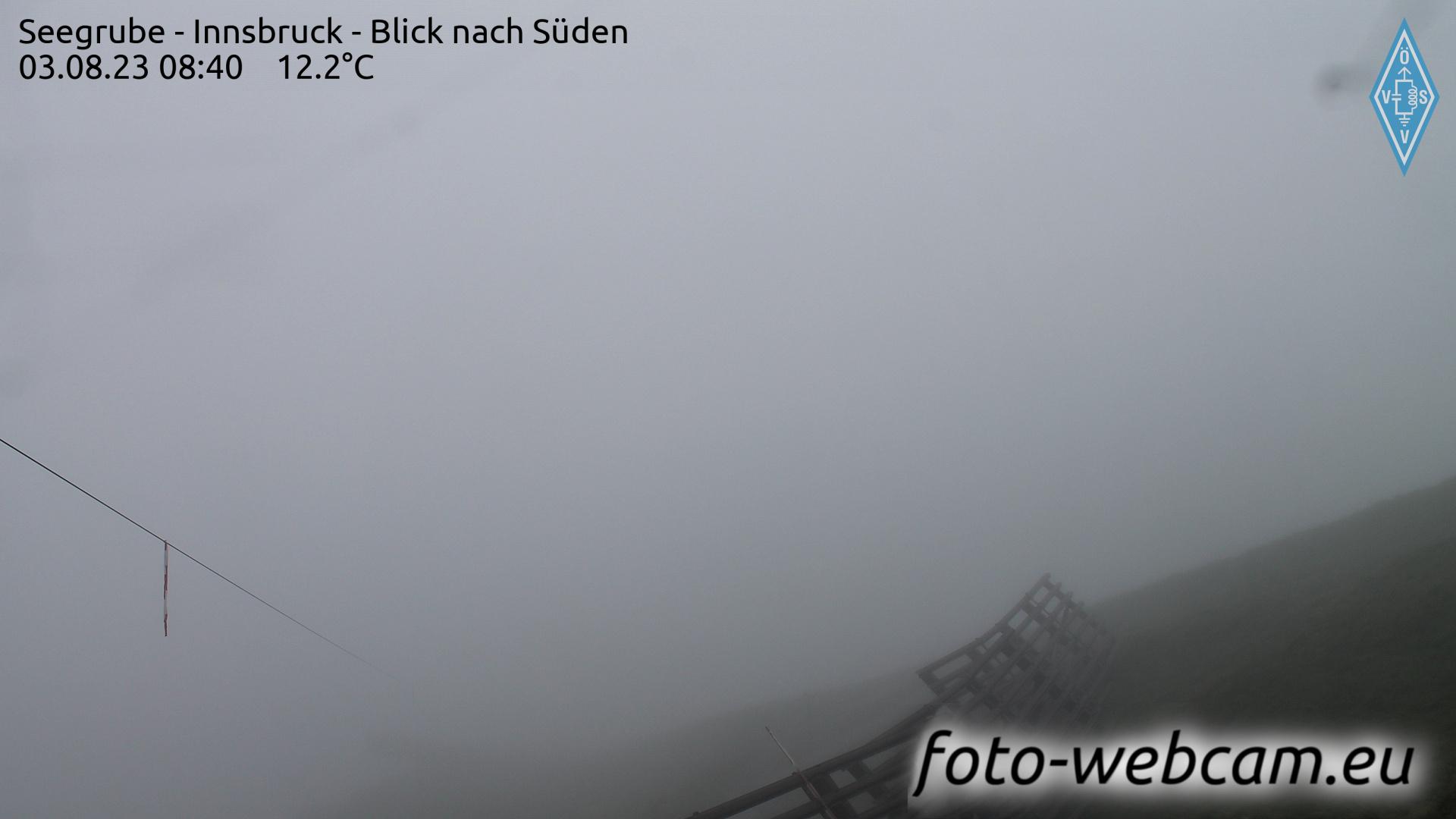 Innsbruck Thu. 08:18