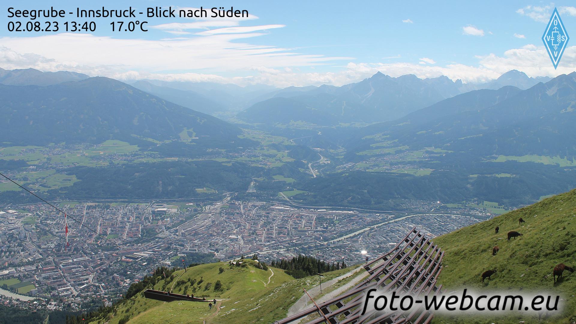 Innsbruck Wed. 13:18