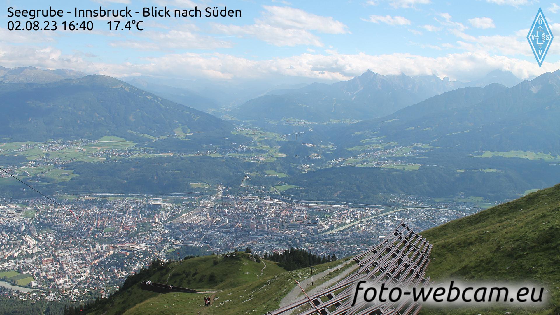 Innsbruck Wed. 16:18