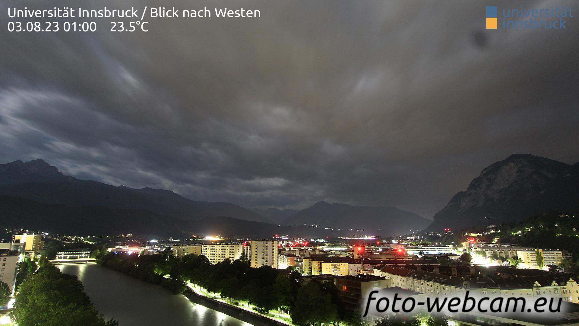 Innsbruck Mon. 01:25
