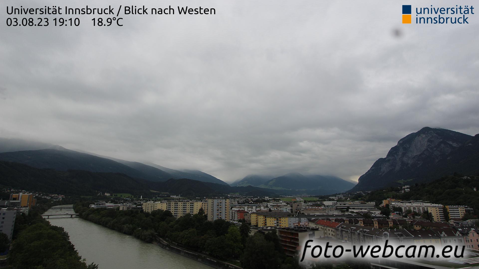 Innsbruck Sun. 19:25