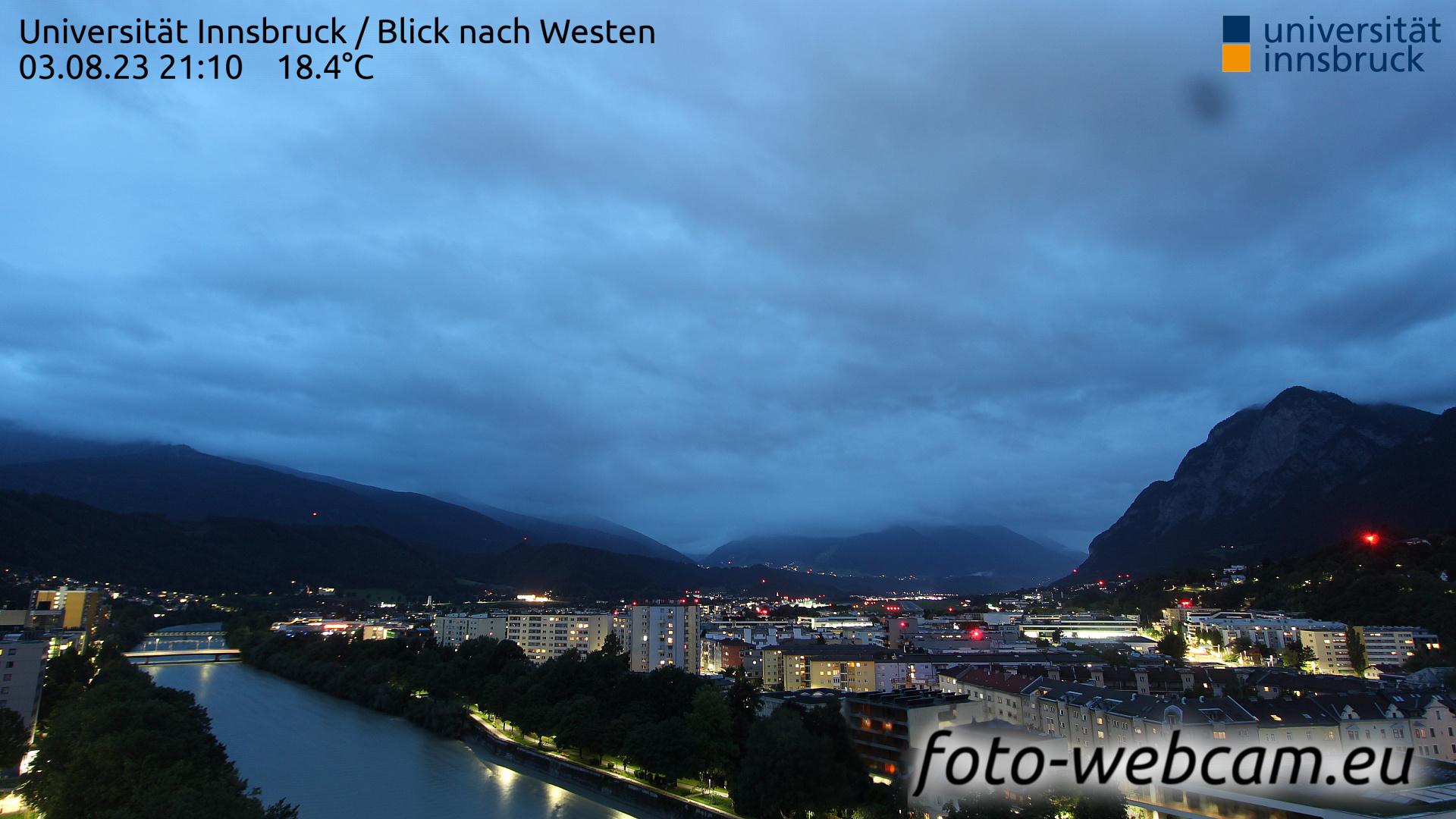Innsbruck Sun. 21:25