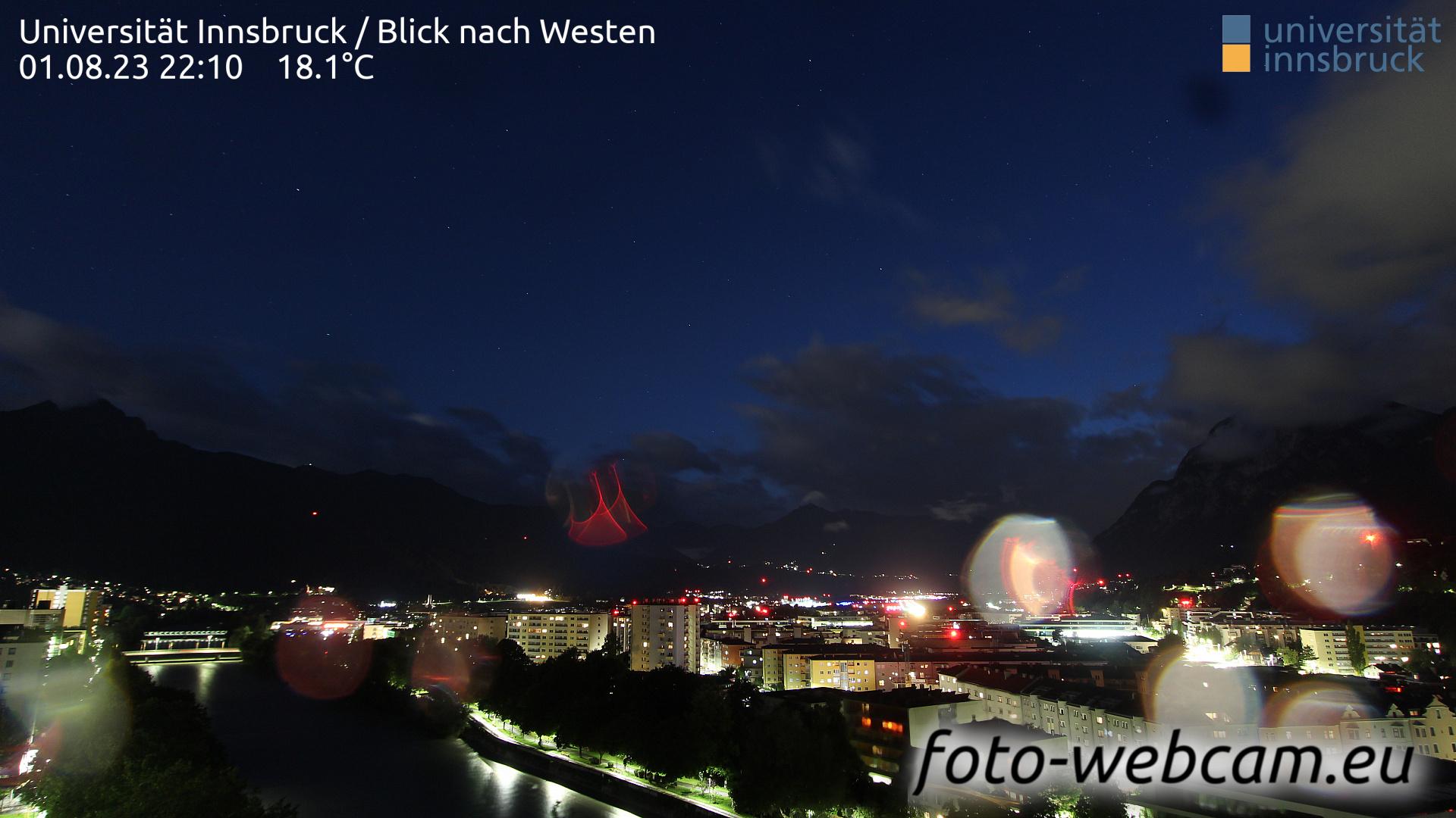 Innsbruck Sun. 22:25