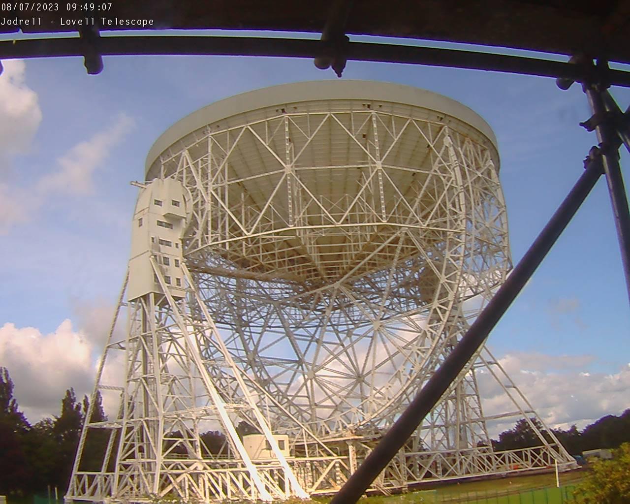 Jodrell bank observatory: lovell teleskop webcam galore