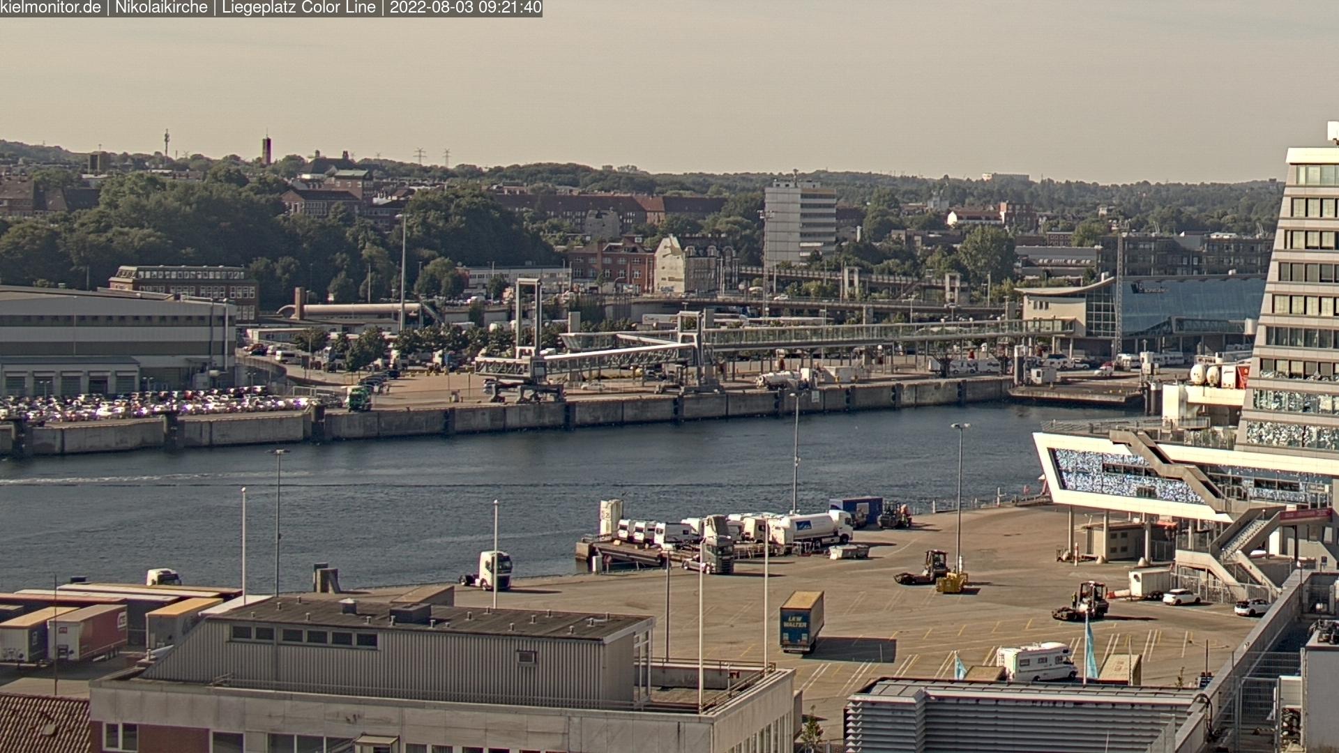 Webcam Kiel Ostufer