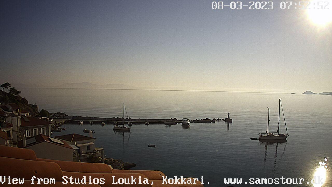 Kokkari (Samos) Sat. 07:53
