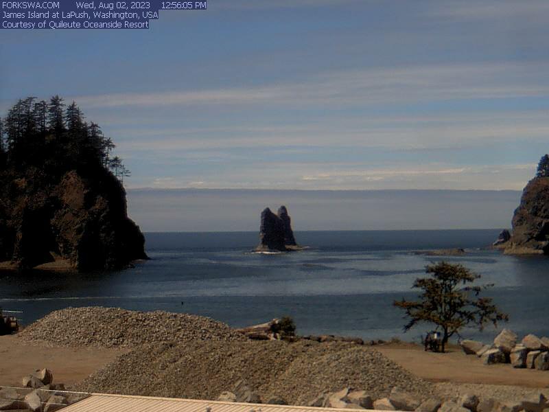 Webcam La Push Washington James Island