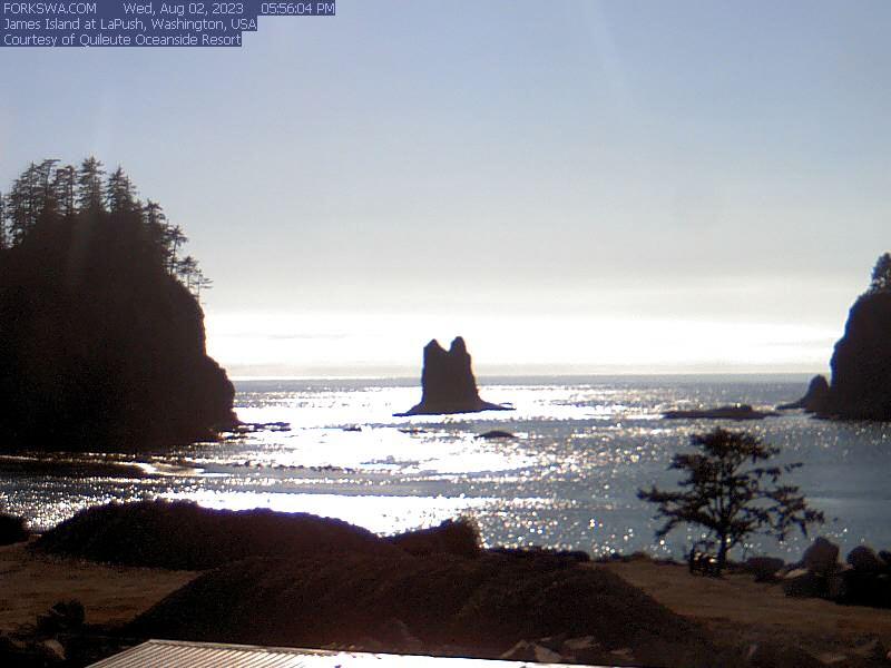 La Push, Washington: James Island - Webcam Galore