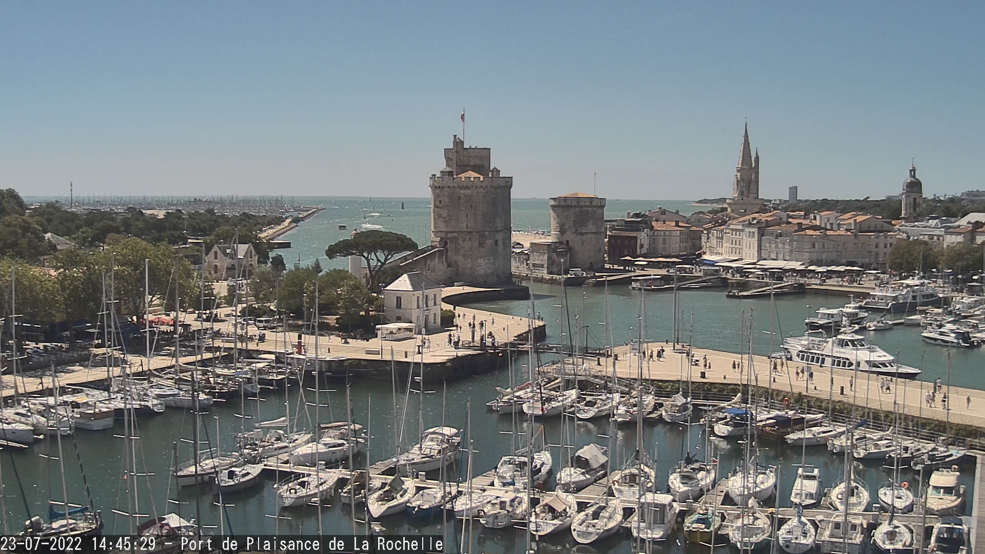 webcam la rochelle le port des minimes. Black Bedroom Furniture Sets. Home Design Ideas