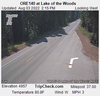 Webcam Lake Of The Woods Oregon Ore140 At Lake Of The Woods