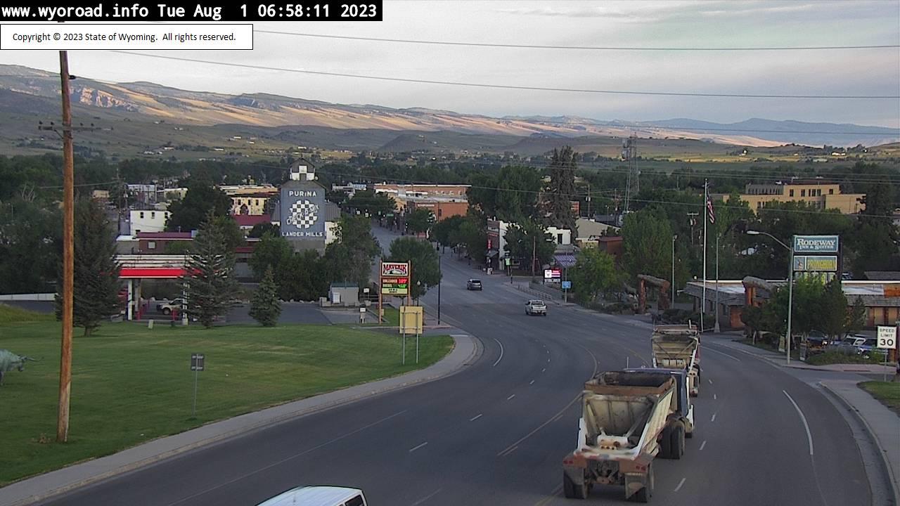 Lander, Wyoming Thu. 07:04